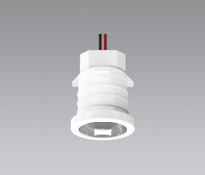 Compact LED lamp for refrigerators
