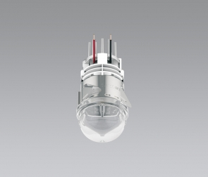 LED oven lamp for round cut-out